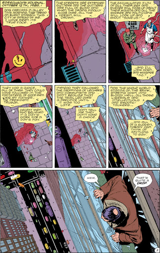 Watchmen pág 1