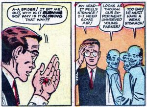 Peter vira o Homem Aranha