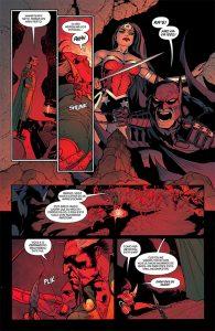 Batman e Mulher maravilha antes da Hellbat