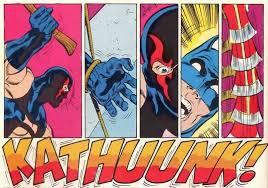 Batman vê KGBesta ferrando o próprio braço