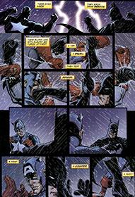 Crossover Batman vs Capitão