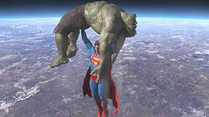 Crossover Super vs Hulk