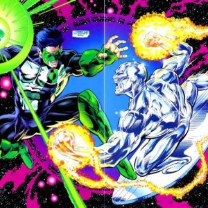 Crossover Lanterna vs Surfista