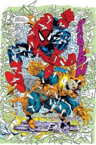 Sexteto sinistro - Aranha vs duende