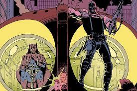 Watchmen Coruja e Comediante