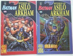 Batman de volta ao Arkham