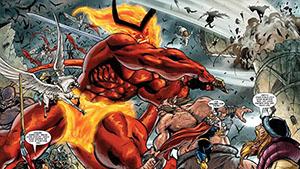 Surtur em Thor ragnarok